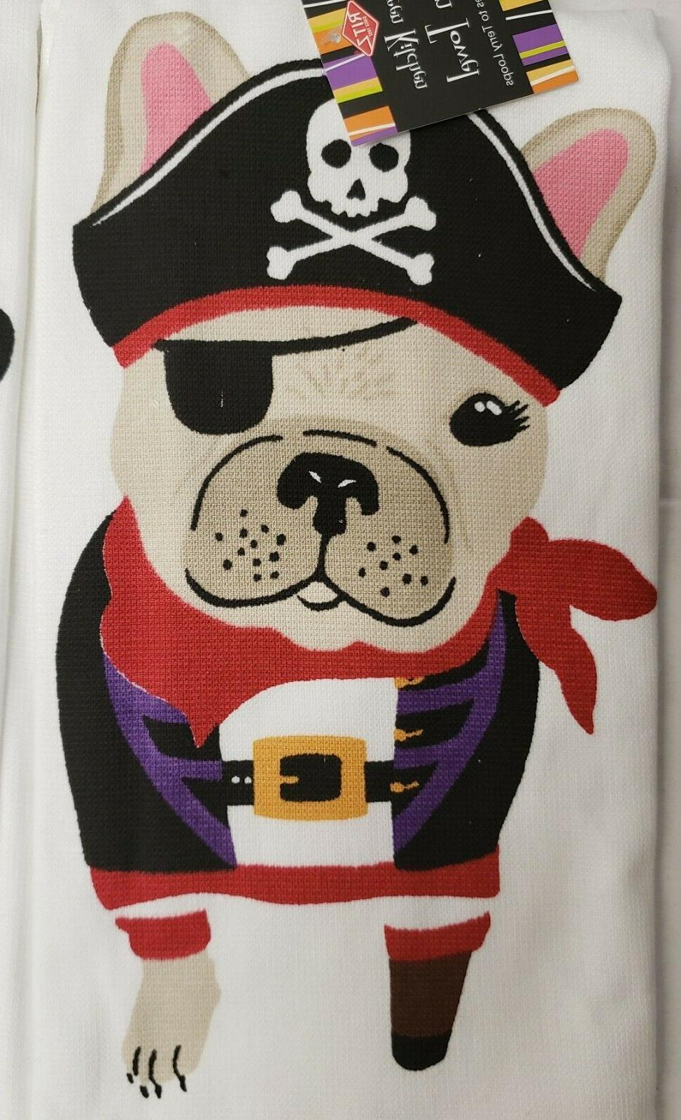 2 DIFFERENT TERRY & DOG, HALLOWEEN, Ritz