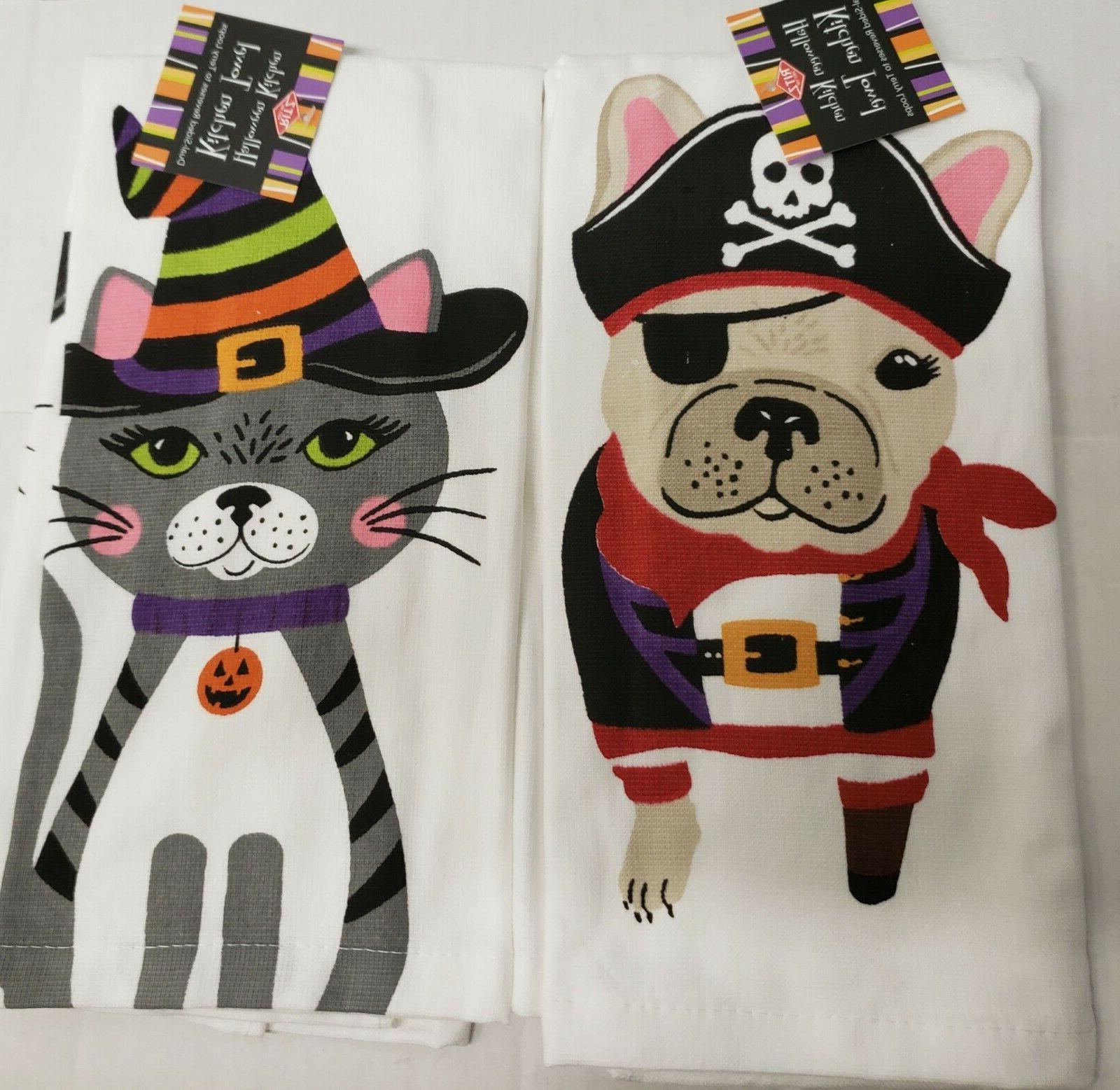 2 different cotton kitchen terry towels 15