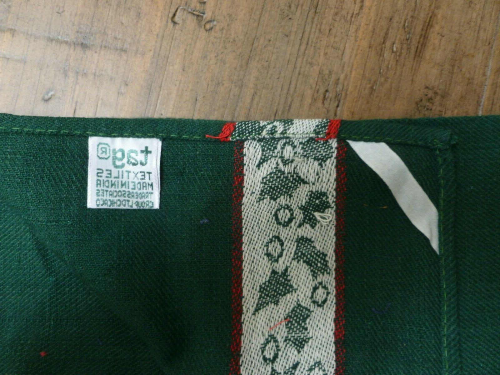 """2 Green Towels ~ 26 by 19"""" Cotton"""