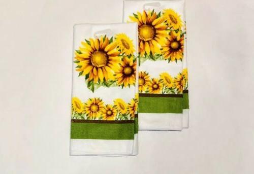 2 Towels Sunflower 15 x 25