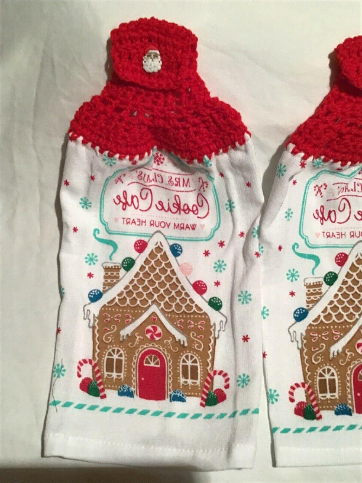 Kitchen Towels Mrs Cookie Heart