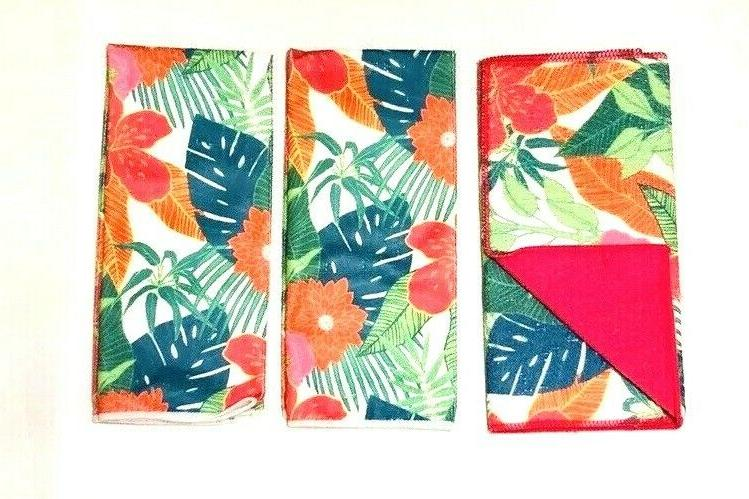 2 Kitchen Towels Matching Drying Mediterranean of