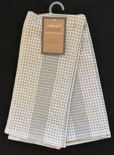 2 pack cotton kitchen dish hand towels