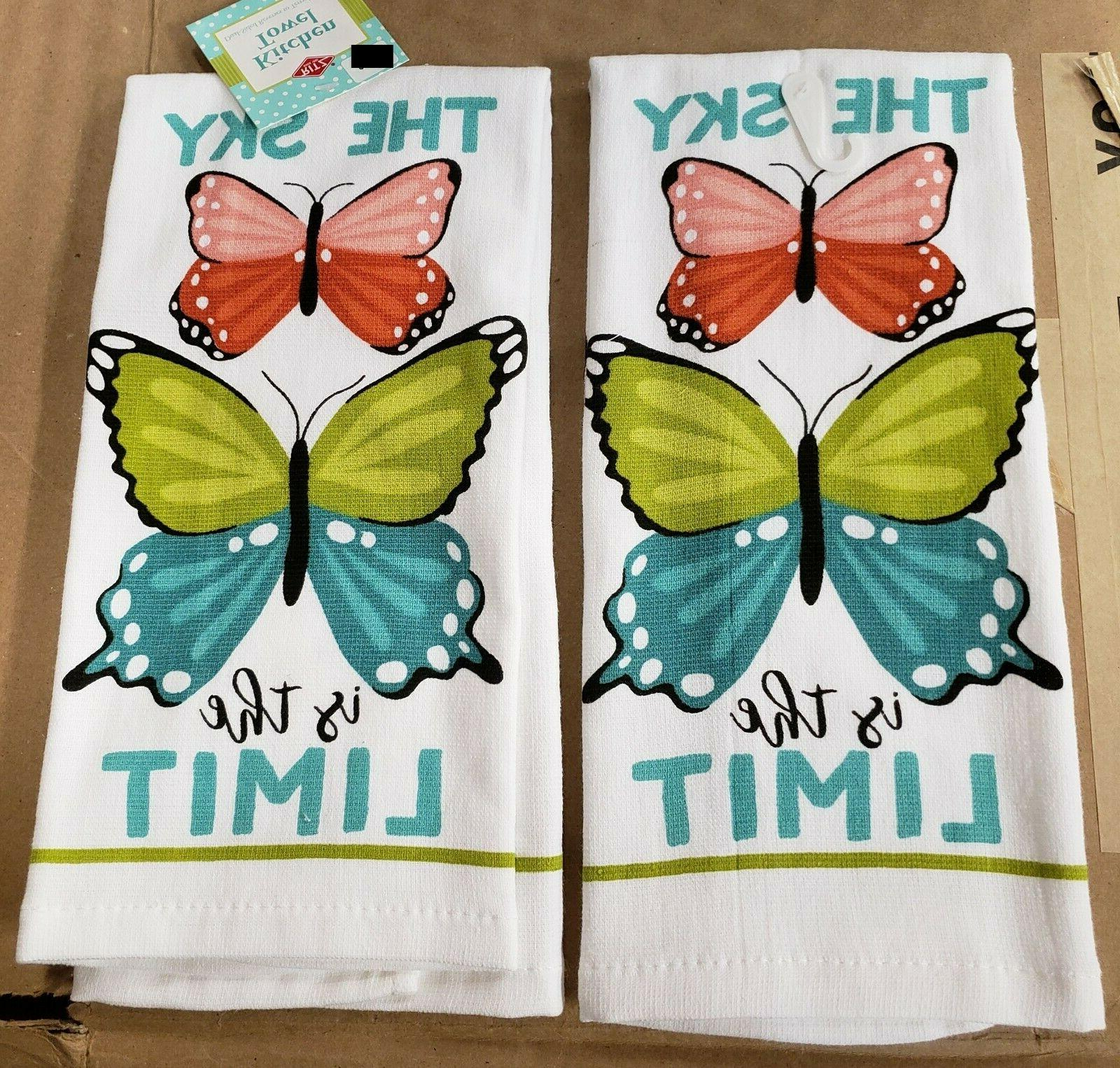 2 same printed dual kitchen towels 15