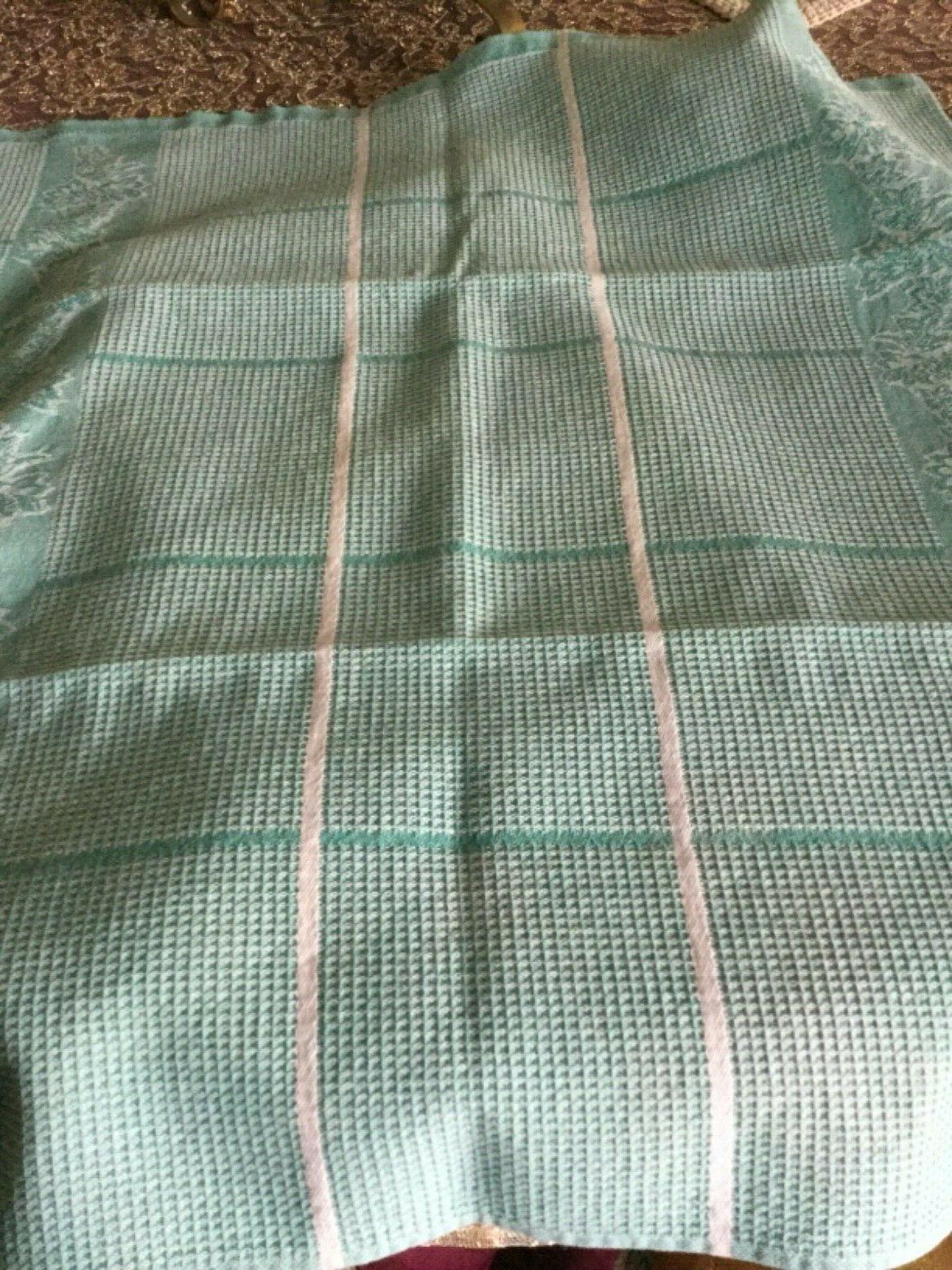2 & Kitchen Towels w/Leaf Design, 100% Cotton,