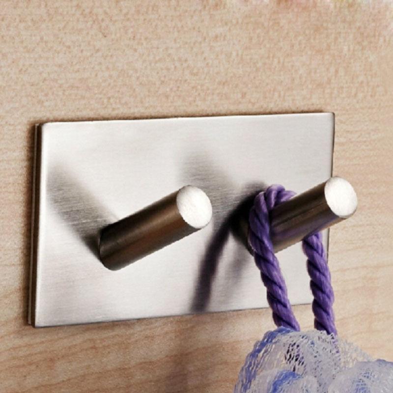 304 Adhesive Hook Key Kitchen Towel Hanger Mount