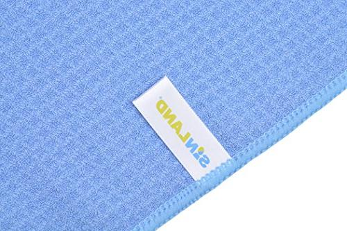 SINLAND 320gsm Waffle Towel Kitchen Dish Drying Towels Hand Towels