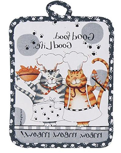 Kay Dee Designs R2632 Happy Cat Potholder
