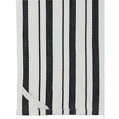 Cotton Craft Towels Black 100% 20x30
