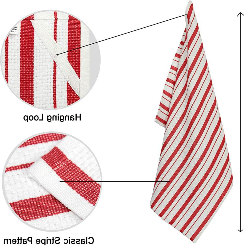 Cotton Craft - Pack - Basketweave Towels Cotton -
