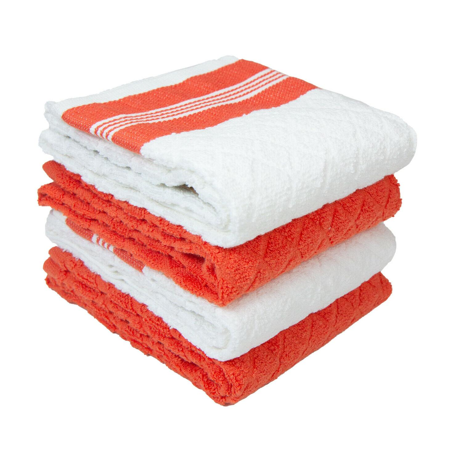 4 Pack of Towels - Cotton Dish