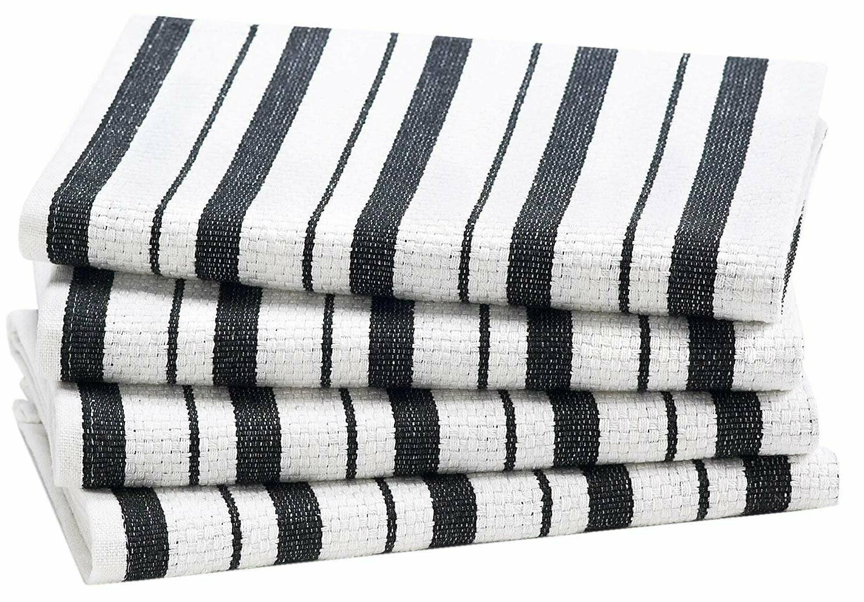 4 PCS  Basket Weave Dish Cloths Kitchen Towels Cotton Craft