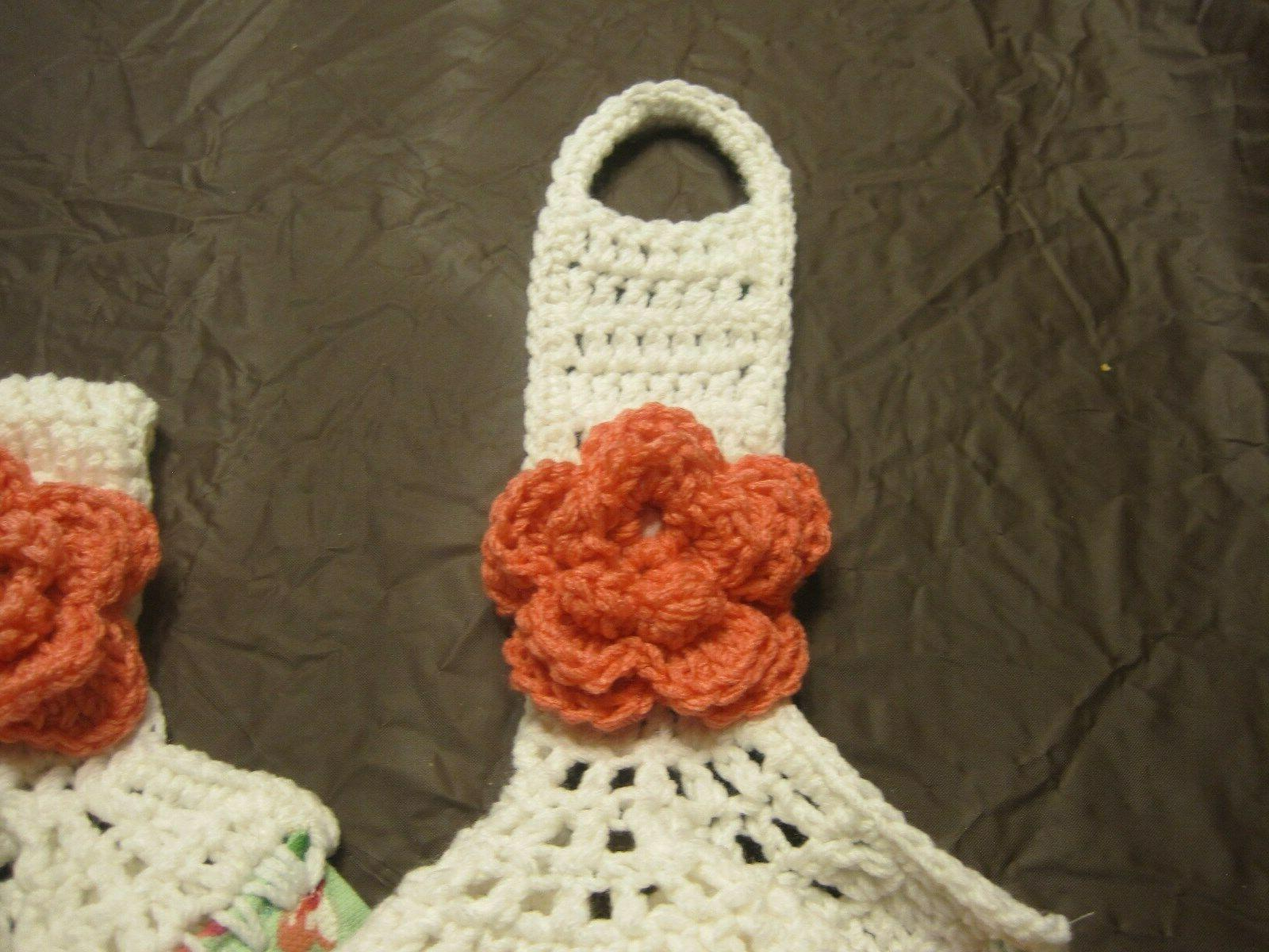 Crochet Top Cotton Kitchen Towels Gorgeous
