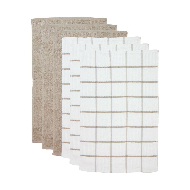 6 Tea - Pattern x 25 in Cotton
