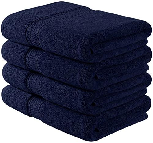 700 gsm navy blue bath