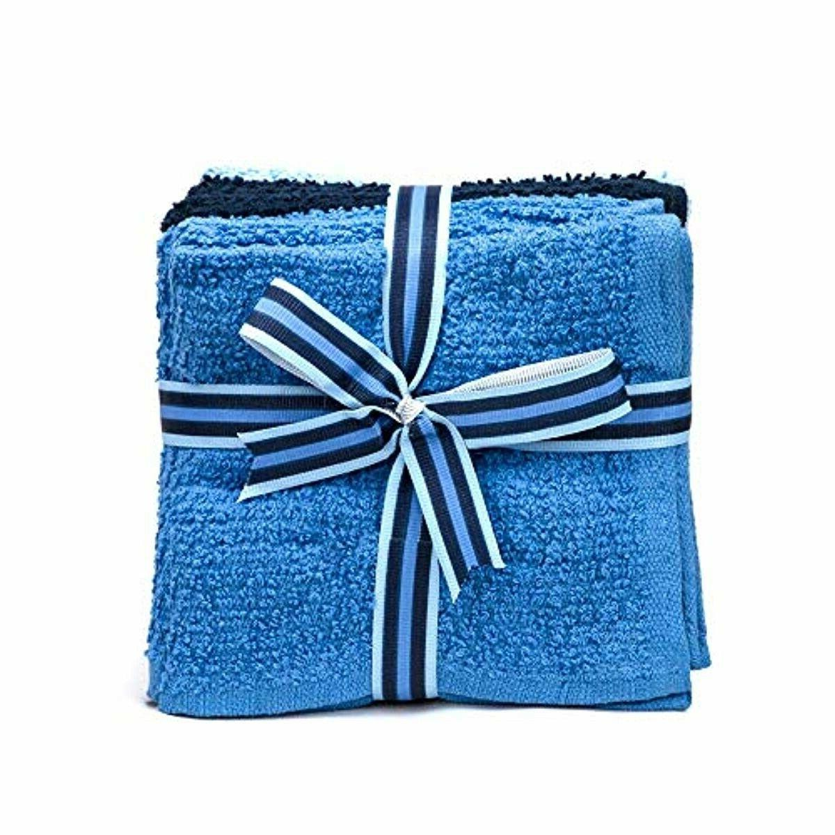 8 Pack Kitchen Towels, 100% Cotton Cloth, Soft, inch