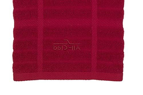 All-Clad Textiles 100-Percent Combed Terry Loop Towel, and 17-inch 30-inch, Solid,