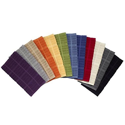All-Clad Textiles 100-Percent Terry Loop Cotton Towel, Oversized, 30-inch, Tangerine Orange