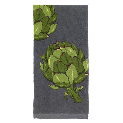 All-Clad Textiles Fiber Reactive Artichoke Print on Kitchen