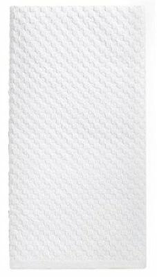 Cotton Craft - 12 Pack White EuroCafe Waffle Weave Terry Kit