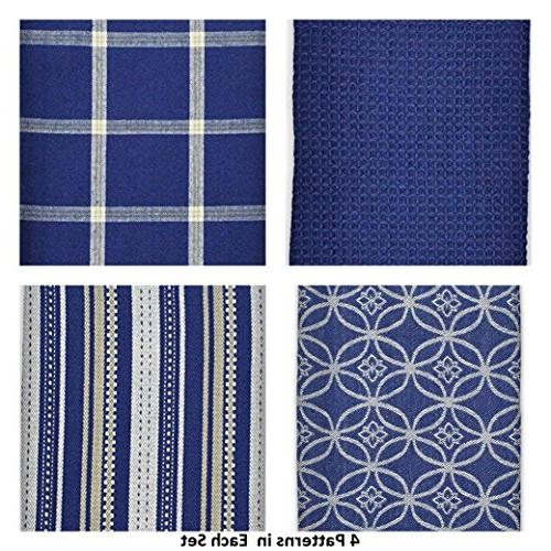 """DII Cotton Dish Towels 28"""" and x Set of Drying Cooking and"""