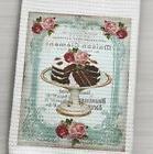 French Inspired Bakery Chocolate Cake Patisserie Waffle Weav