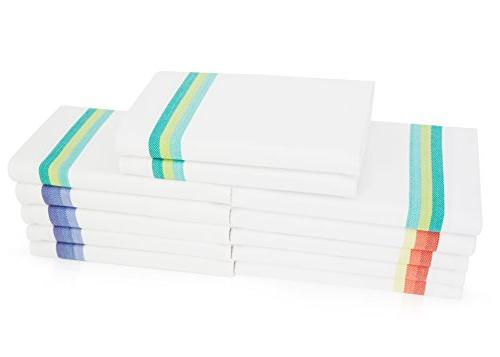 Harringdons Dish Towels Set 100% Cotton. Cloths Soft and Absorbent. Green and 4 of There's no Substitute