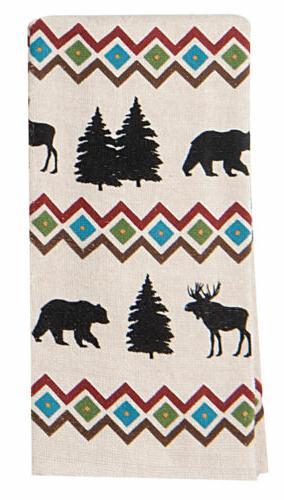 Kay Dee Designs Bear/Moose Lodge/Cabin Cotton Terry Cloth Ki