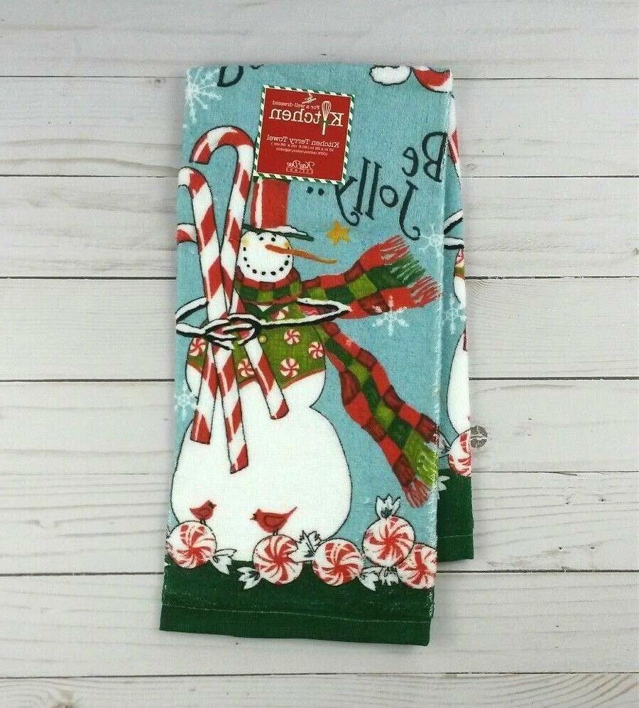 Kay Dee Towel Snowman