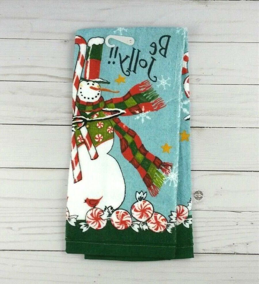 Kay Designs Towel Snowman