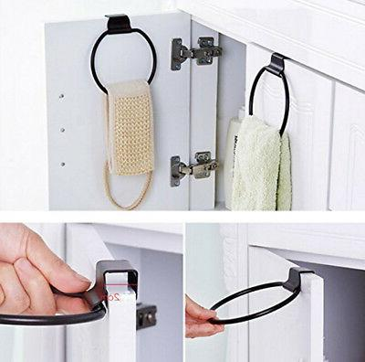 Kitchen Cabinet Door Ring Holder Organizer