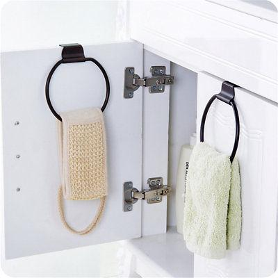 Kitchen Over Cabinet Door Holder Organizer