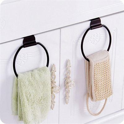 Kitchen Cabinet Towel Holder Organizer Hanger