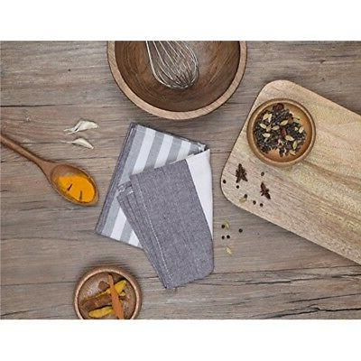 Kitchen Cotton Cloth of 3 with W...