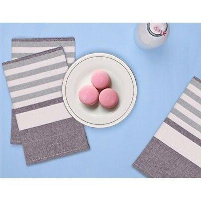 Kitchen Towels and Dishcloths Cotton Cloth Napkins Set of 3