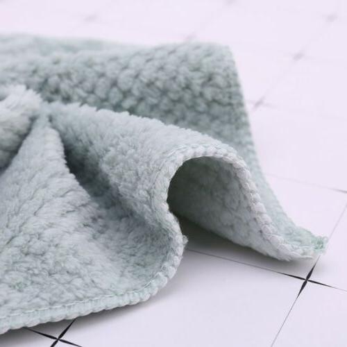Microfiber Dishcloth Washing Cleaning Towel Cloth Rags
