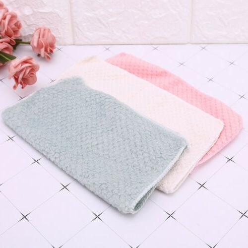 Microfiber Square Washing Cleaning Towel Dish Cloth Rags