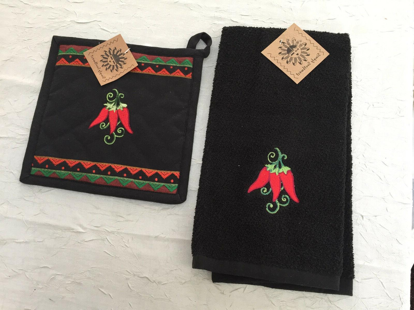 New Kay Dee Designs Southwest Chilli Terry Kitchen towel and