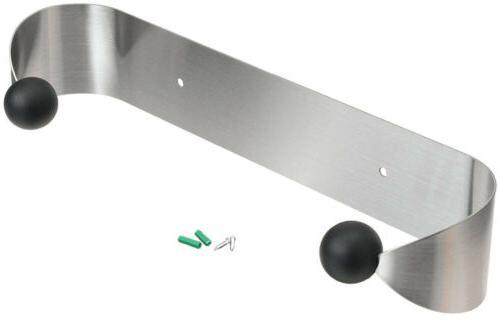 Paper Towel Holder Stainless Steel Under Cabinet Kitchen Bat