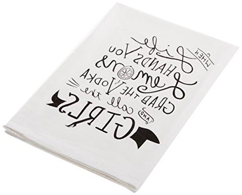 "Primitives by Made You Smile Towel 28"" x Grab and Call the"