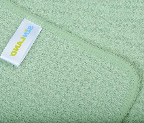 SINLAND Microfiber Towels Towels Waffle Weave 16 Inch X 24 Inch 10