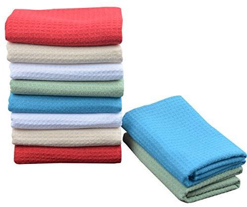 SINLAND Dish Towels Weave Kitchen Inch Inch 10 Pack