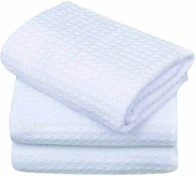 Sinland Microfiber Dish Drying Towels Dish Tolwes Waffle Wea