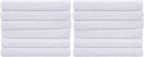 Utopia Towels Bar Mop 12 Pack Cotton Restaurant Cleaning Towels, Towels