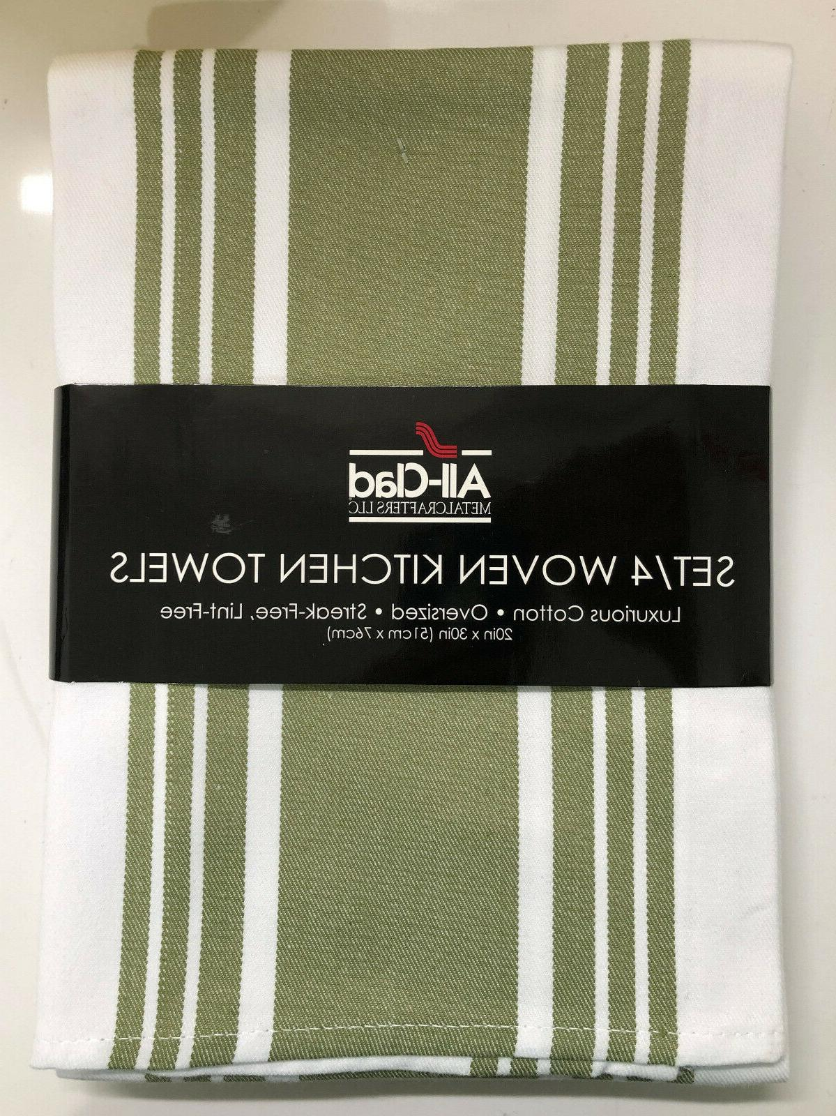 all clad s 4 woven kitchen towels