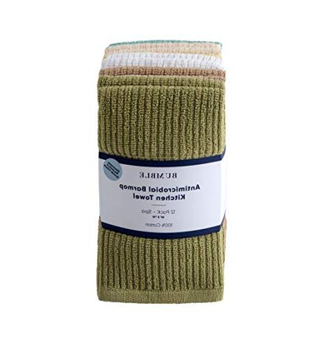 Bumble Barmop Kitchen x Kitchen Towels/Super Absorbent Heavy Weight Cotton/Ribbed