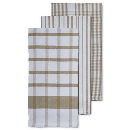 assorted twill kitchen towels