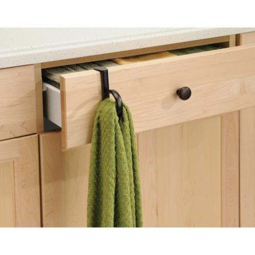 InterDesign Over Single Loop Kitchen Dish Towel Holder,
