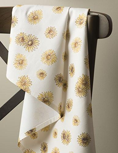 Maison d' Hermine Bagatelle 100% Cotton of 3 Kitchen Towels 20 Inch by 27.50 Inch
