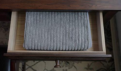Gryeer and Kitchen Absorbent Dish One Ribbed Side Smooth Tea 26x18 Inch, 4,